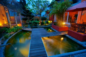 Alexandria landscape lighting